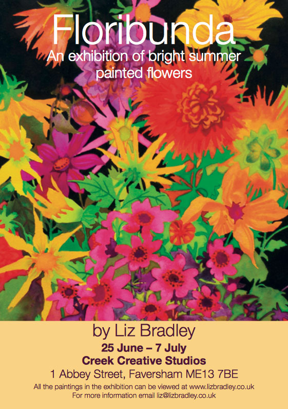 Floribunda exhibition in Kent for Liz Bradley